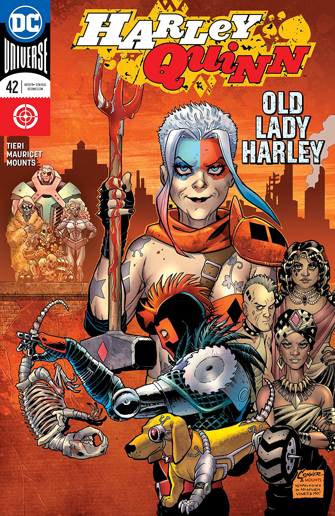 "Harley Quinn #42 review: ""Old Lady Harley"" is a prime opportunity turned into a crummy joke"
