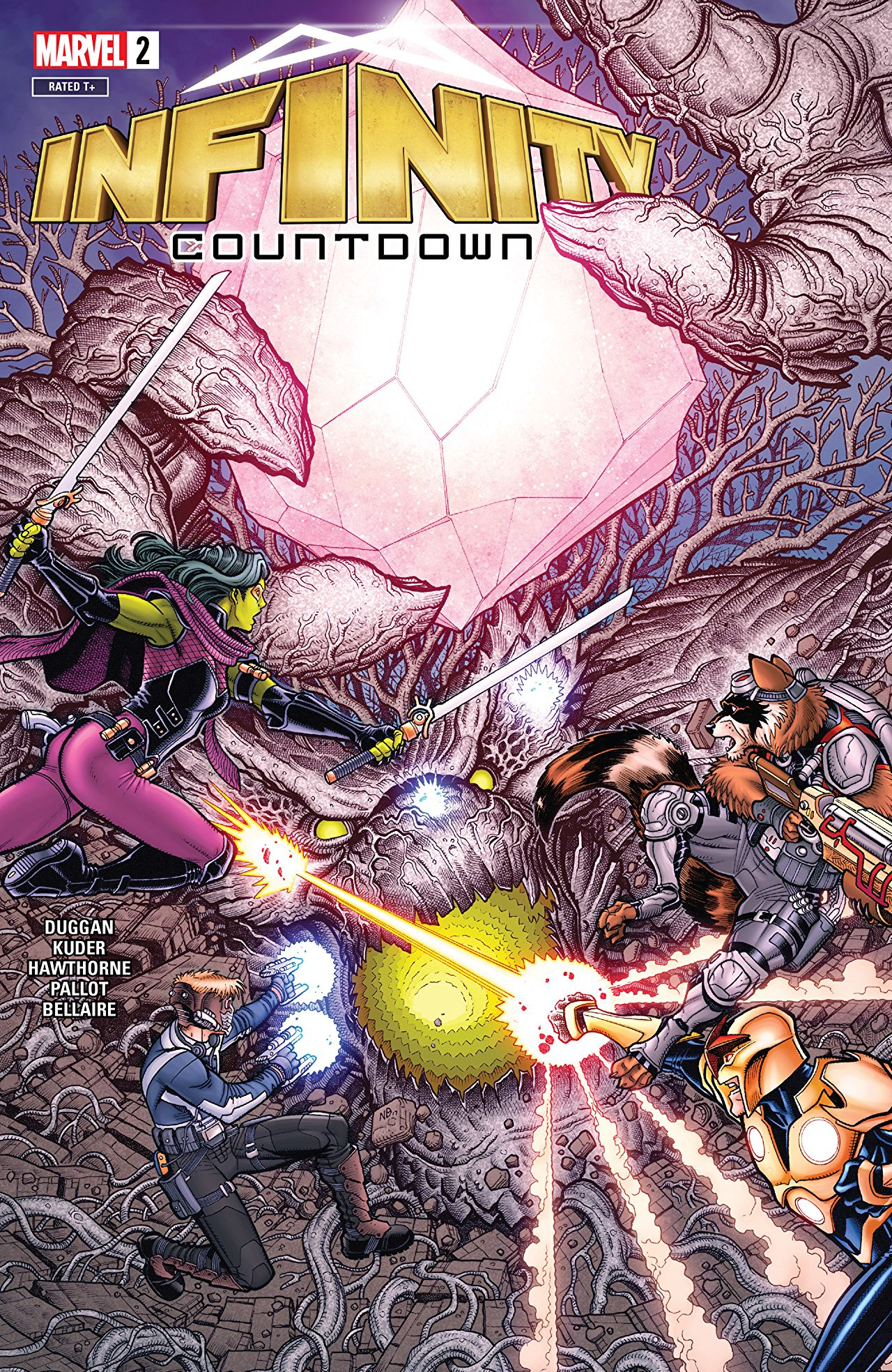 Infinity Countdown #2 Review