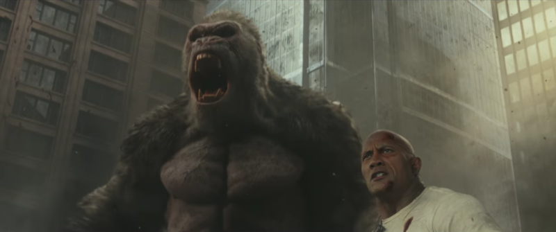 Rampage review: fun monster action pays homage to the spirit of the game