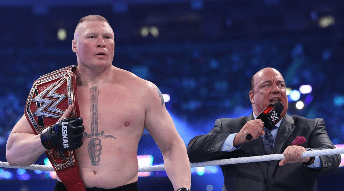 Brock Lesnar has re-signed with WWE; will defend Universal Championship at Greatest Royal Rumble
