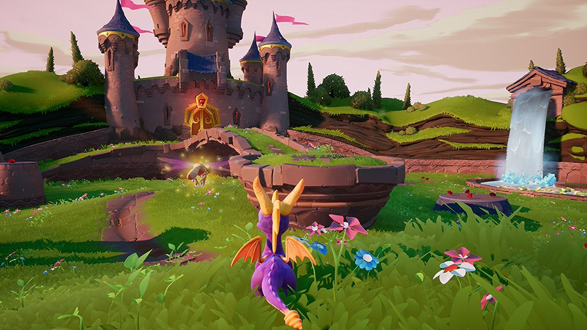 Spyro's back!  Spyro: Reignited Trilogy announced for PS4 and Xbox One