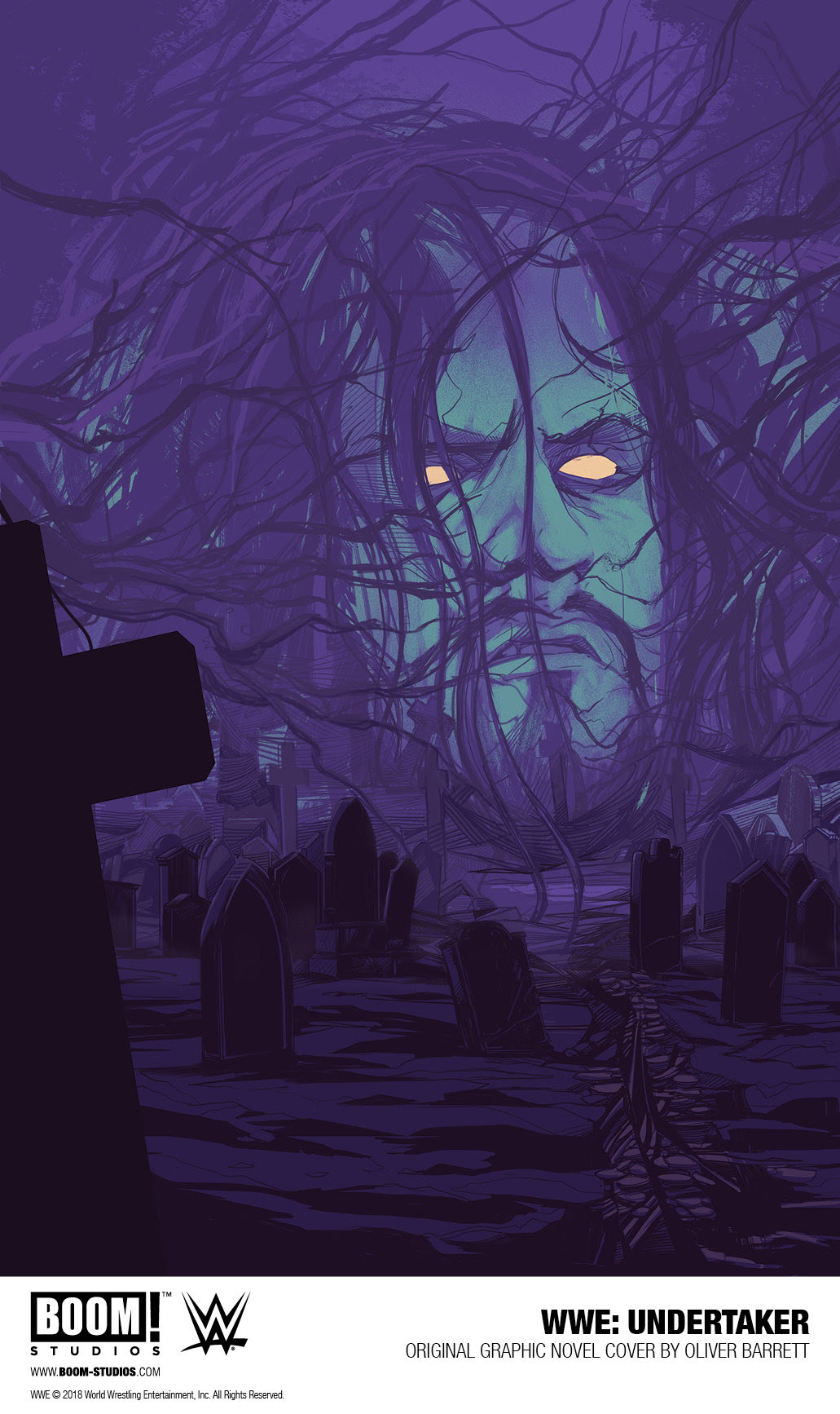 BOOM! Studios is working with WWE to tell the untold story of The Undertaker