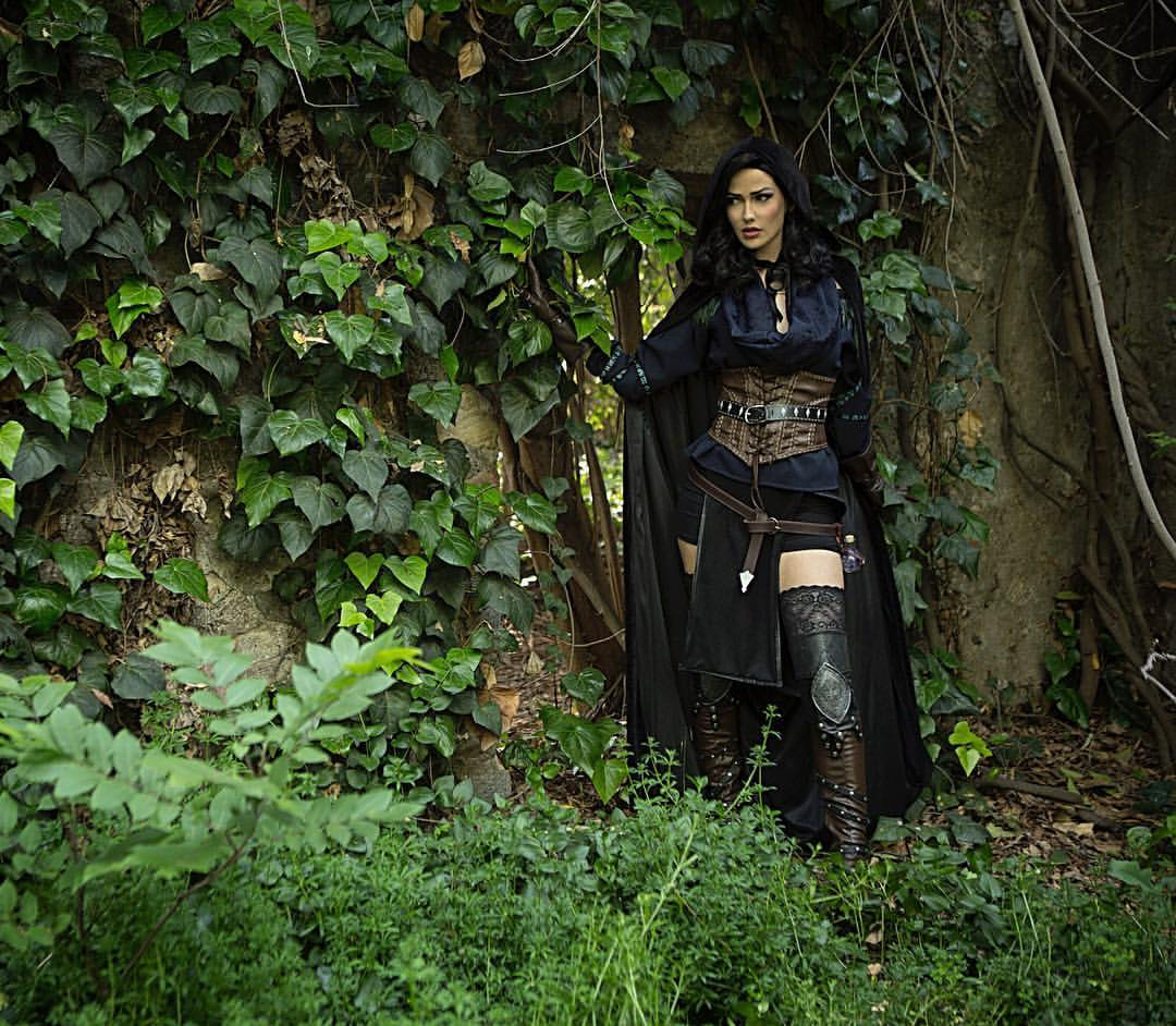 The Witcher: Yennefer cosplay by Love Tahnee