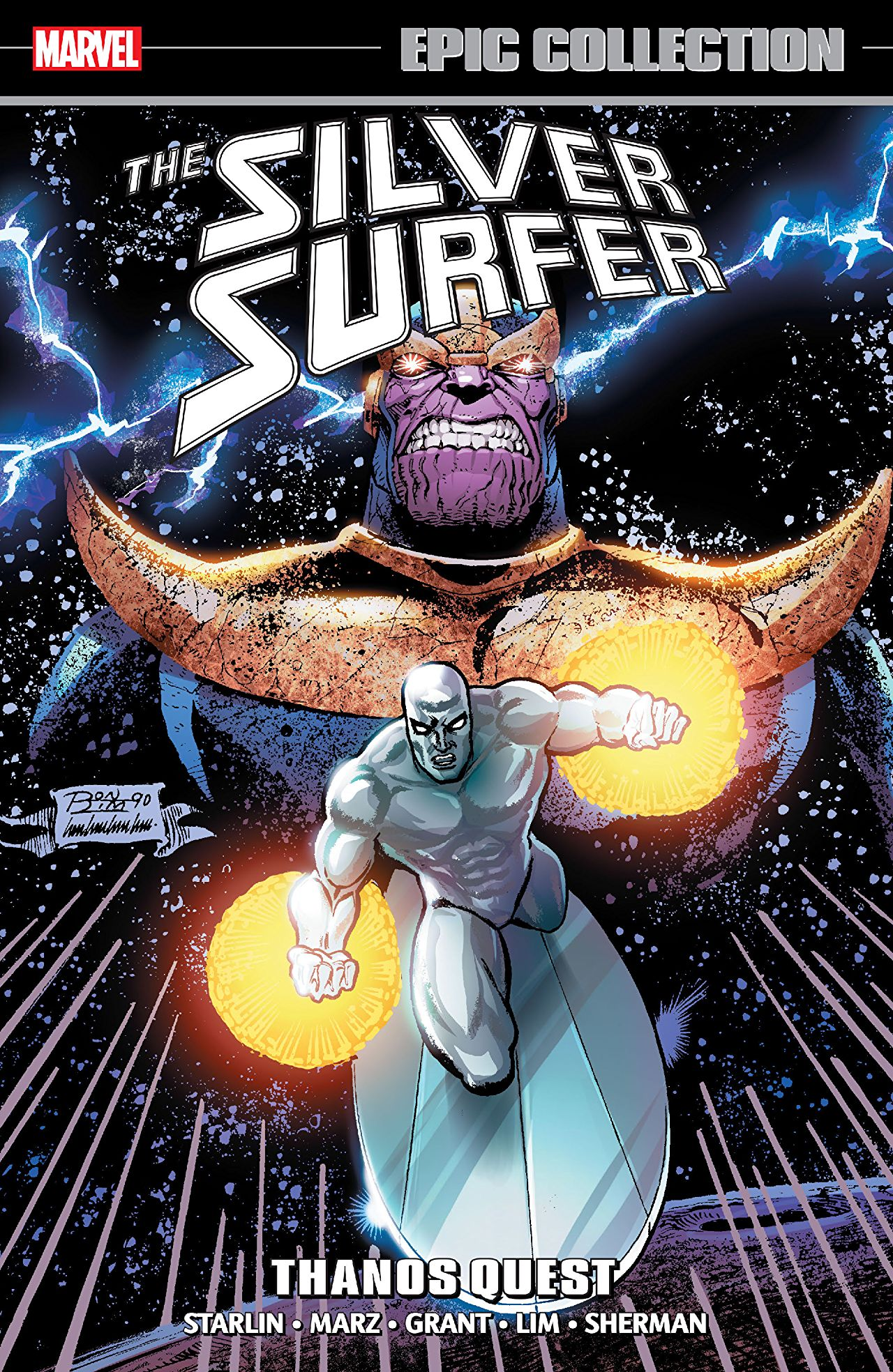 3 Reasons Why: 'Silver Surfer Epic Collection: Thanos Quest' is a great place to look for future Marvel movie stories
