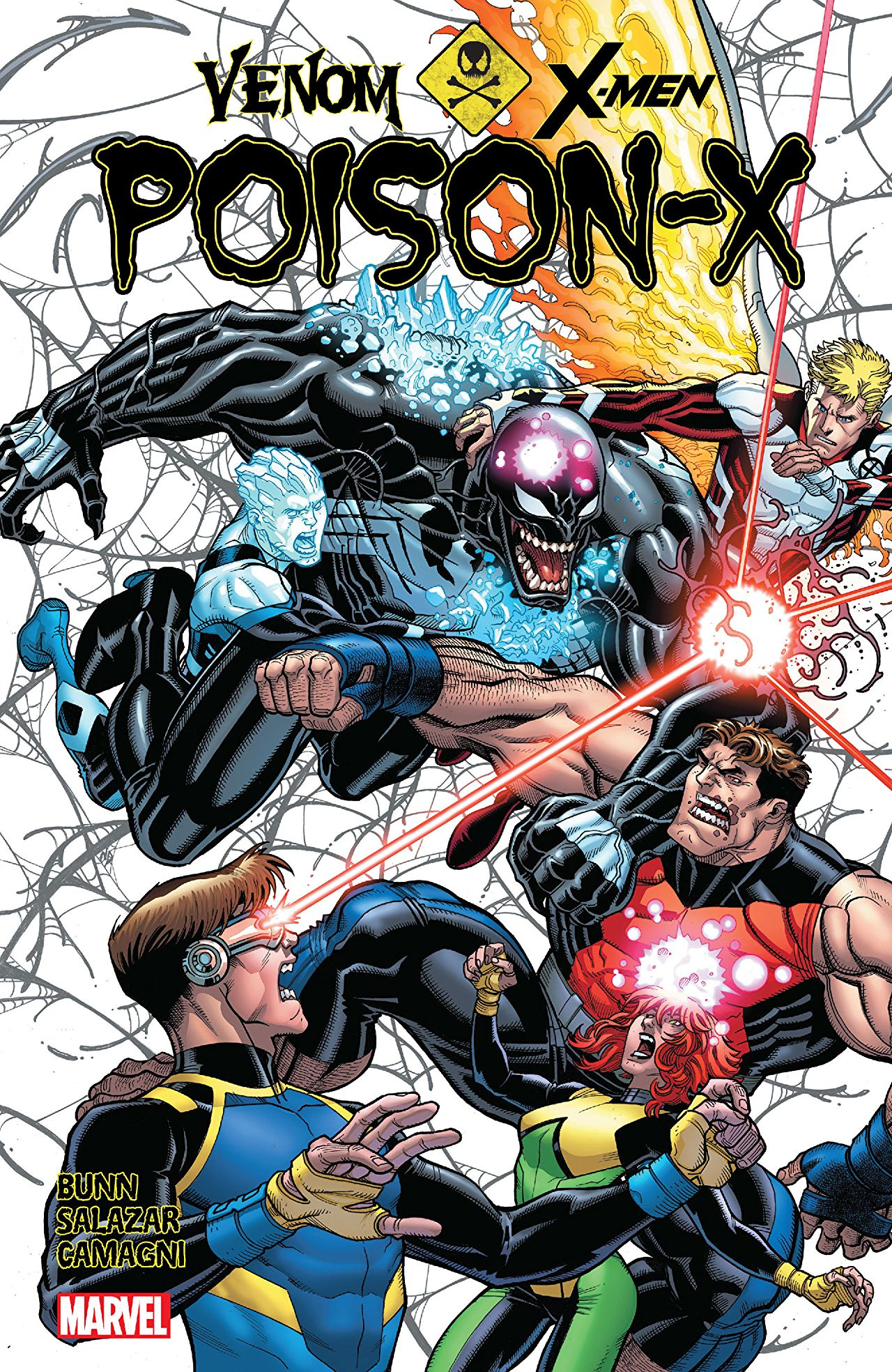 Venom joins the cast of X-Men Blue in the team-up no one demanded: Poison-X!