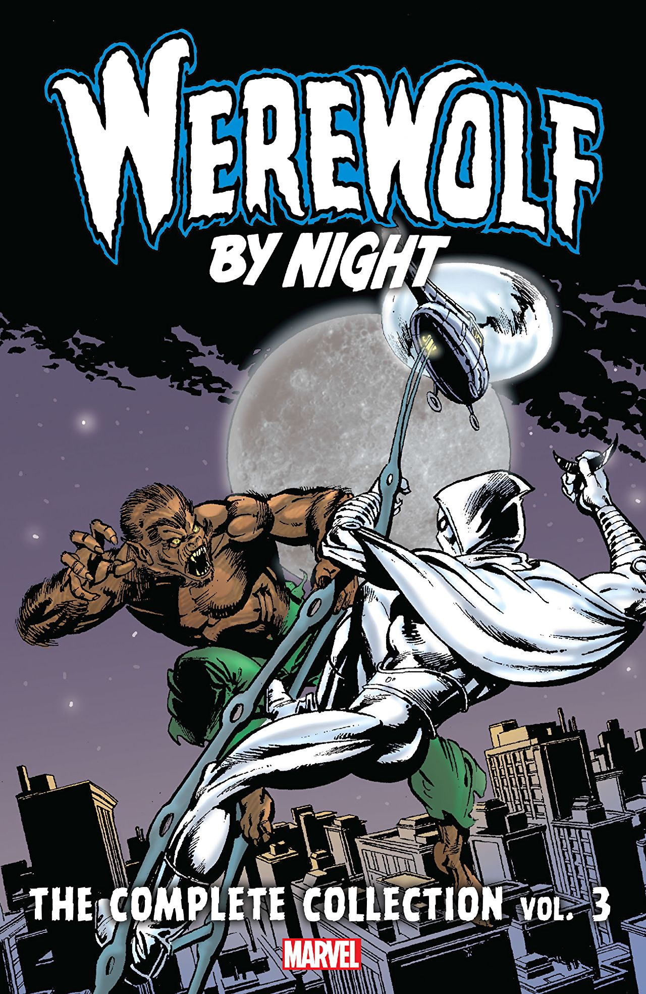 'Werewolf By Night: The Complete Collection Vol. 3' review: blending superheroes with pulp horror