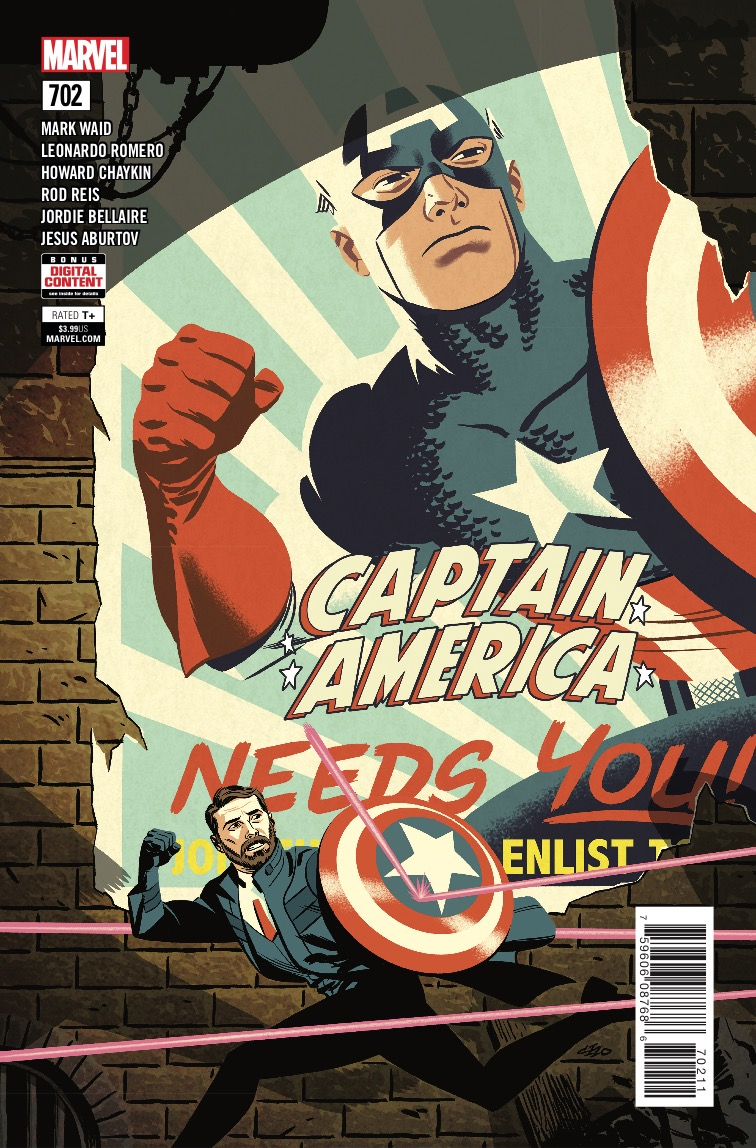 Marvel Preview: Captain America #702