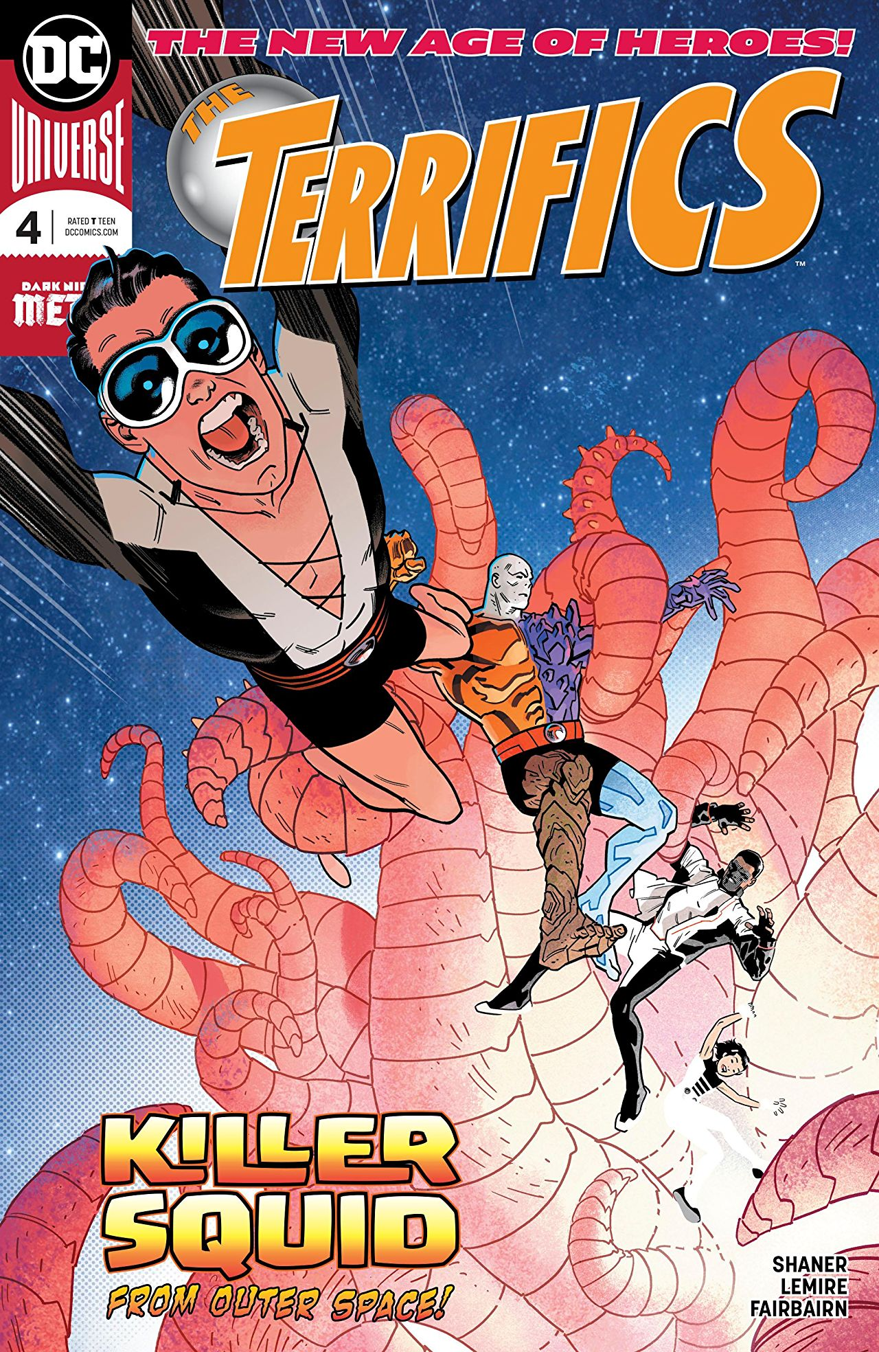 The Terrifics #4 review: Doc Shaner makes an absolutely amazing series debut