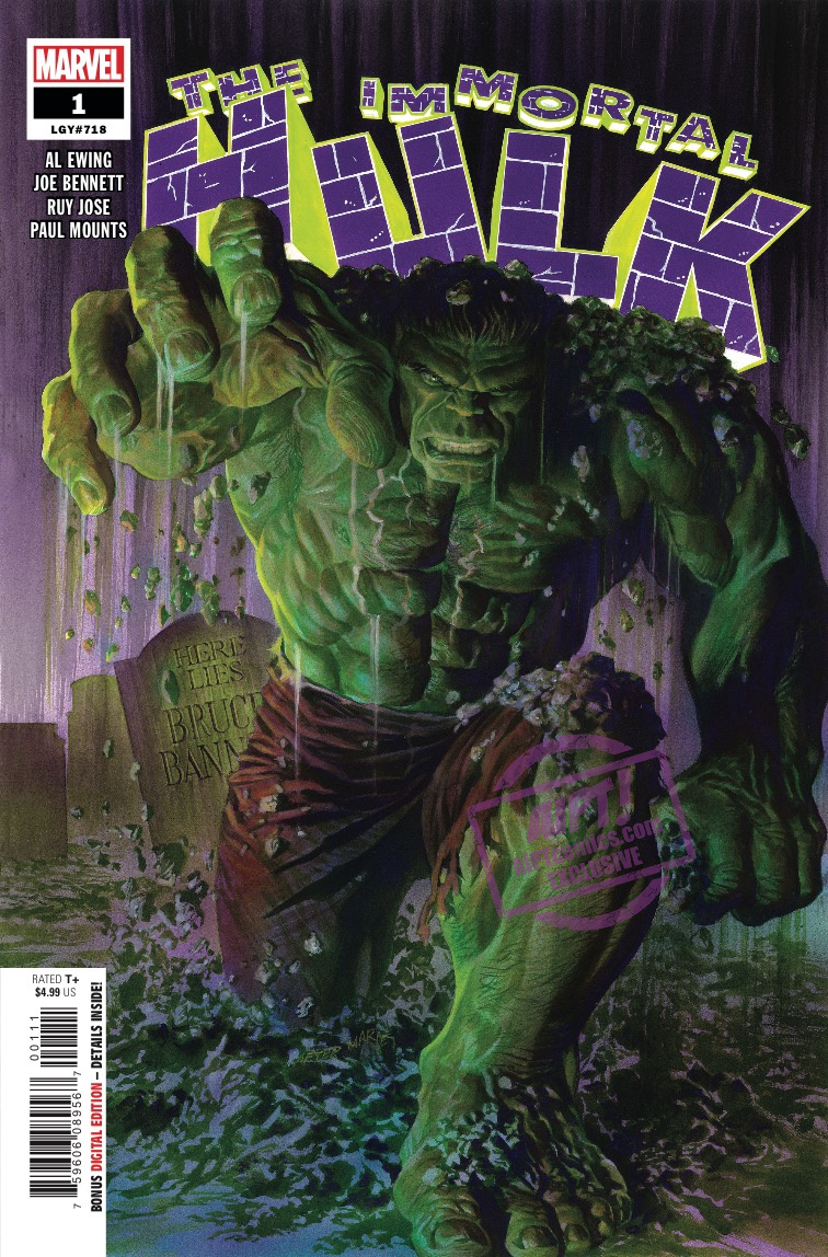 The Hulk goes to Hell in January's 'Immortal Hulk' #11 [NYCC 2018]