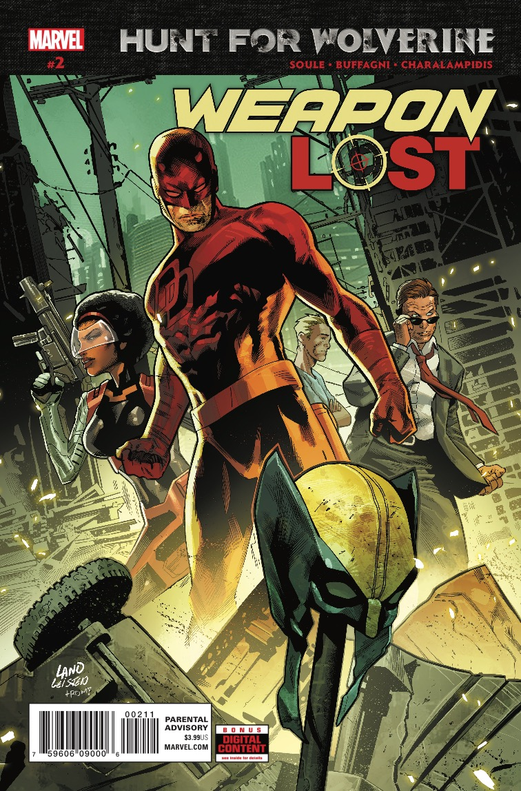 Hunt For Wolverine: Weapon Lost #2 Review