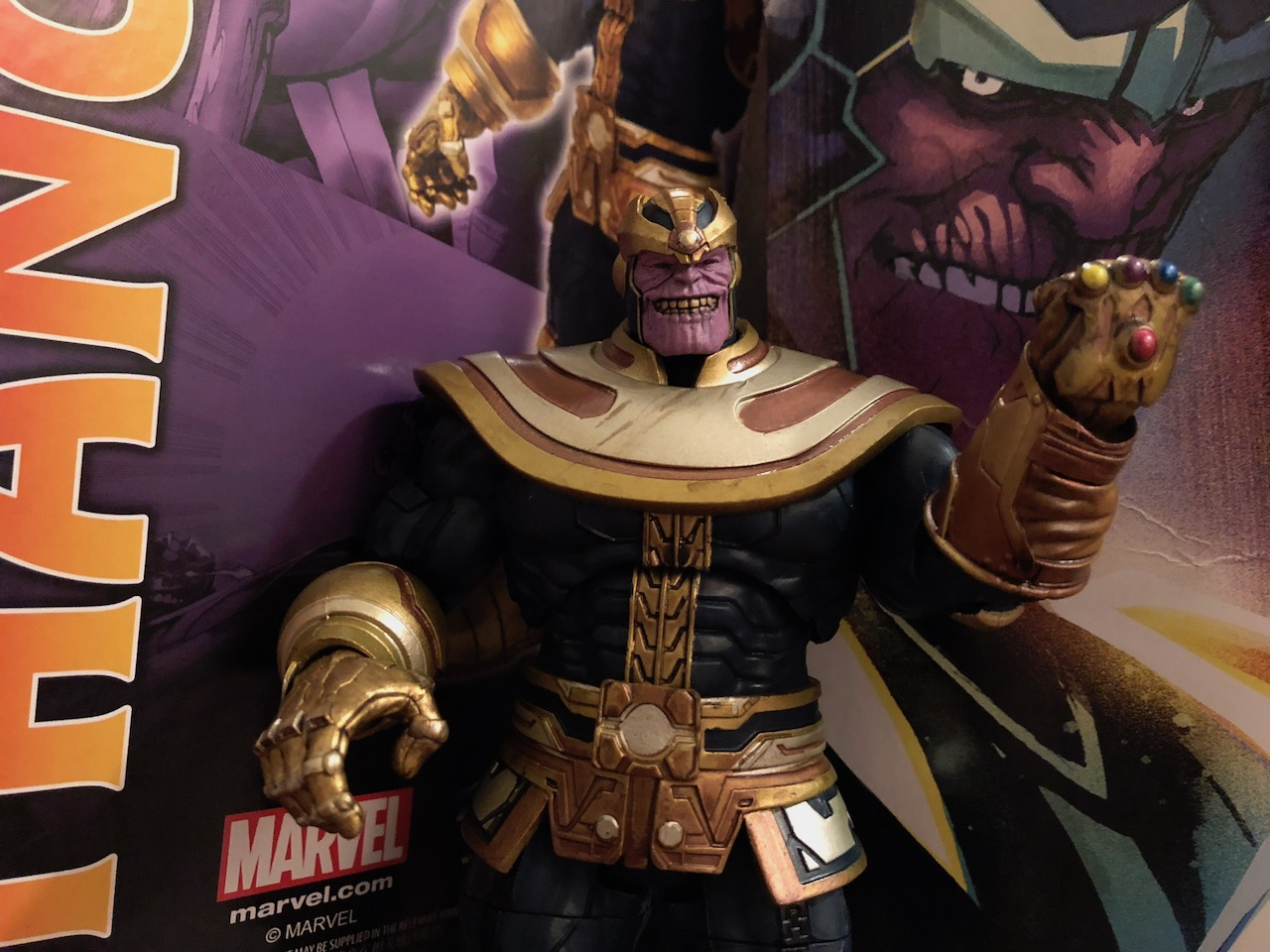 Check out one of the newest Thanos toys on the shelves today.