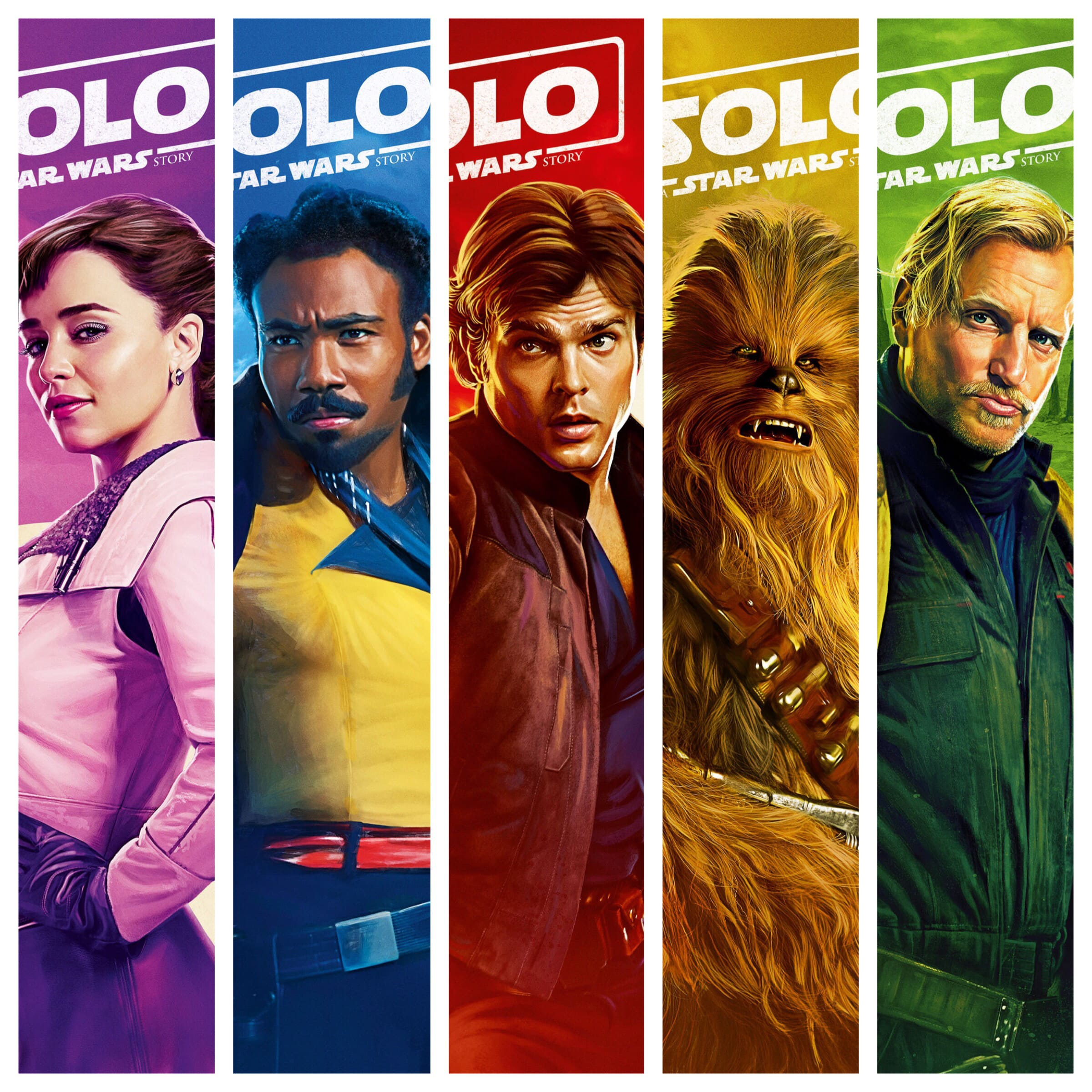 New 'Solo: A Star Wars Story' movie posters unveiled at Cannes Film Festival