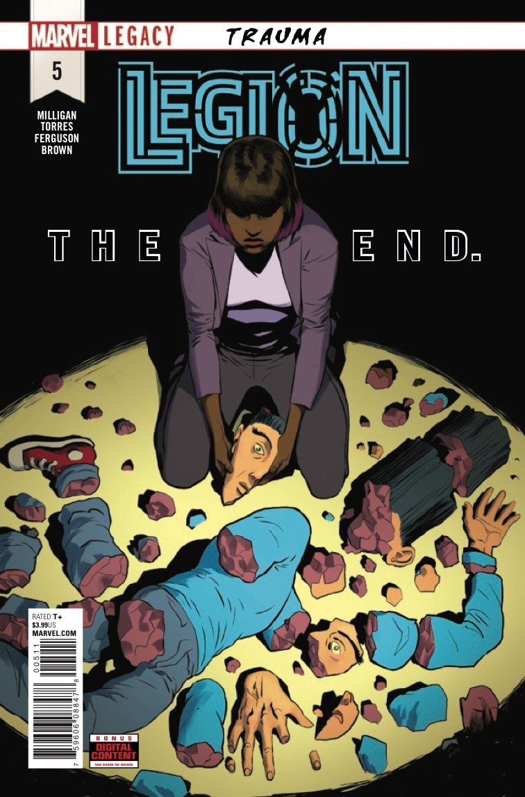 Legion #5 review: A forgettable finale to a forgettable series