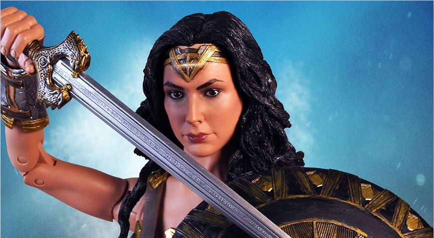 NECA Wonder Woman (2017) 1/4 Scale Action Figure