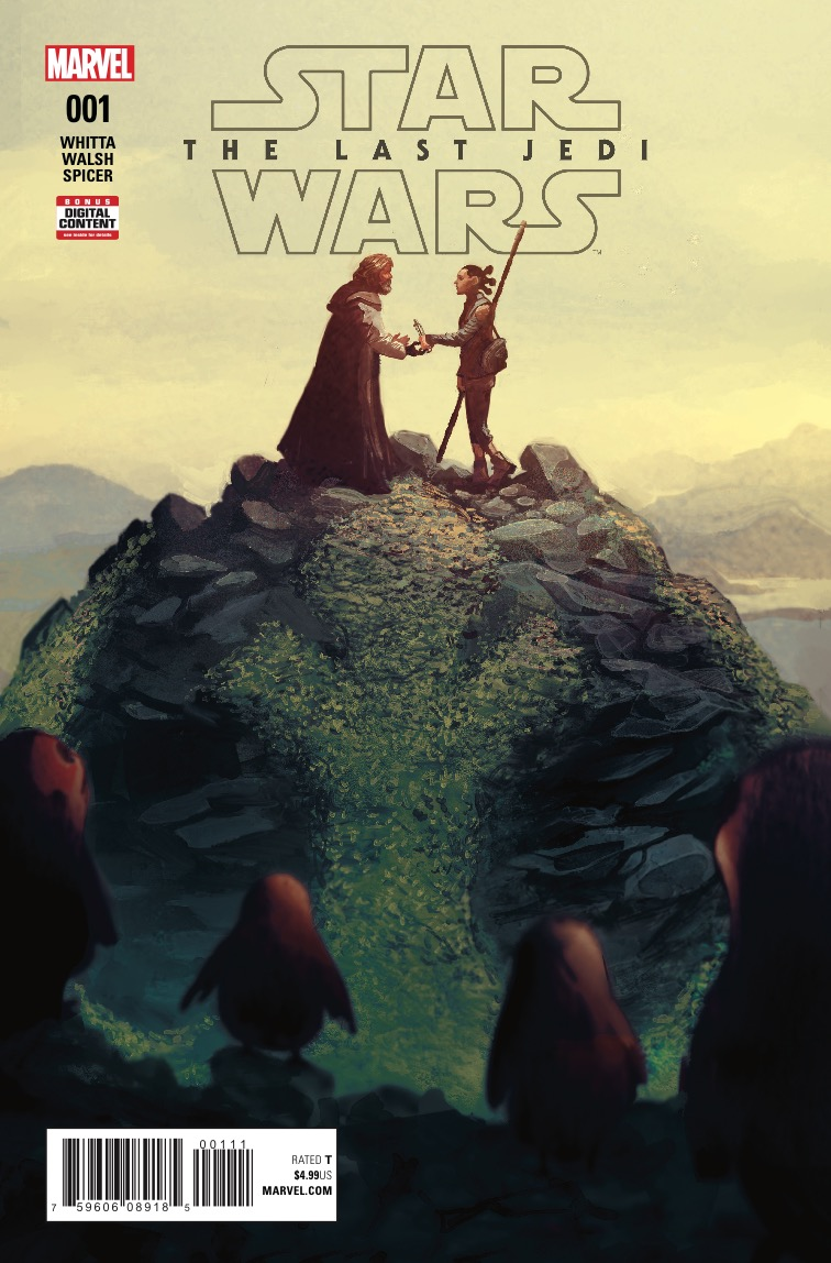 Marvel Preview: Star Wars: The Last Jedi Adaptation #1