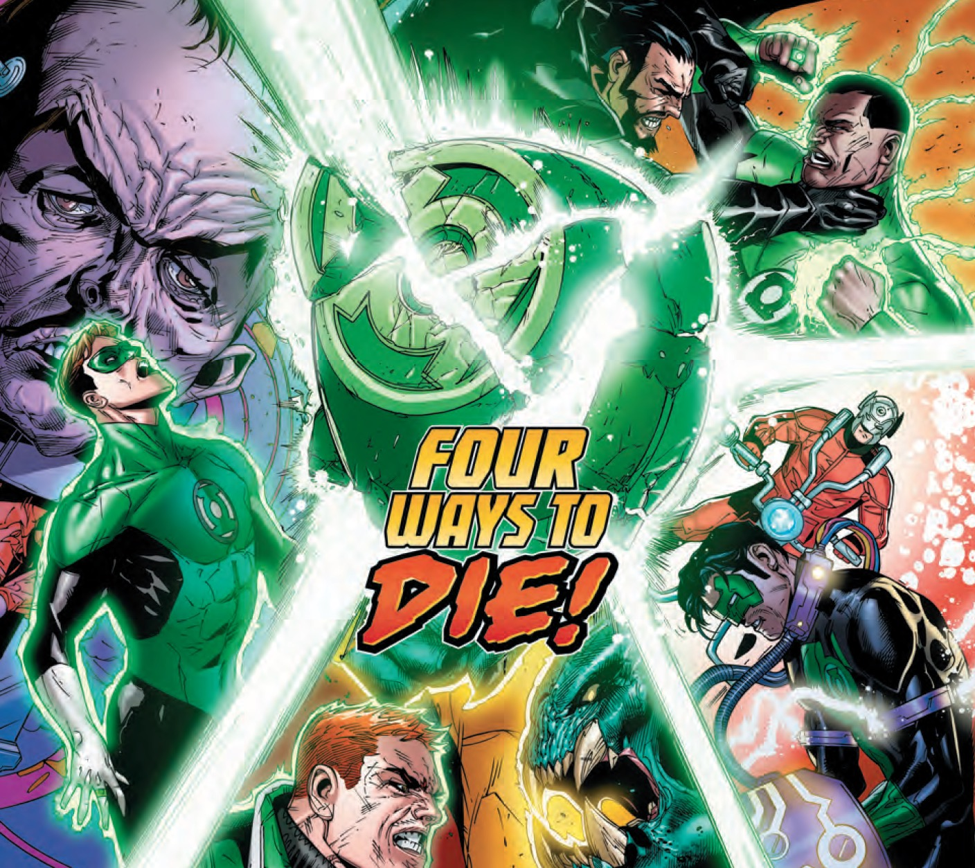 How long before Green Lanterns are killed when they attempt to protect criminals who deserve a trial?