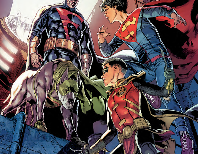 Super Sons/Dynomutt Special #1 Review