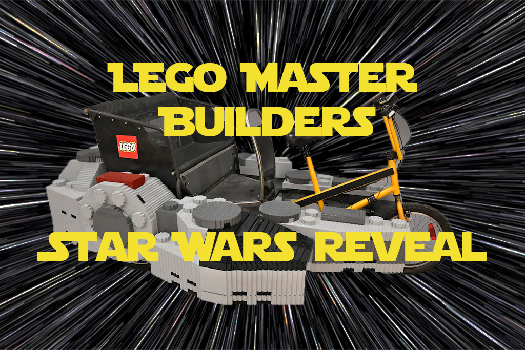 [Watch] LEGO Master Builders create a Star Wars and LEGO first