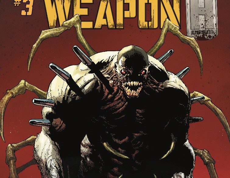 Weapon H #3 Review