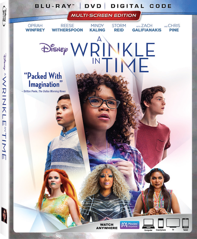 AiPT! Giveaway: Win 'A Wrinkle in Time' Blu-ray Combo Pack | AiPT!