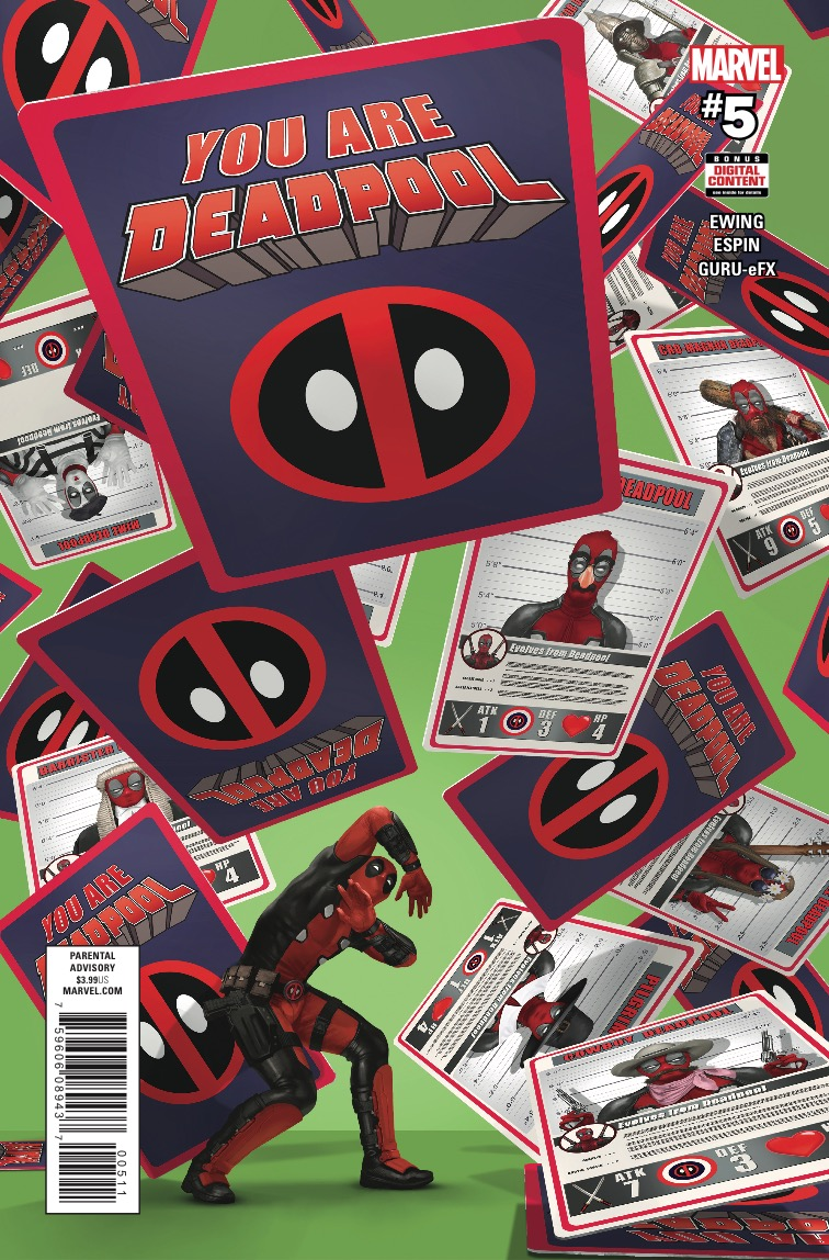 Marvel Preview: You Are Deadpool #5