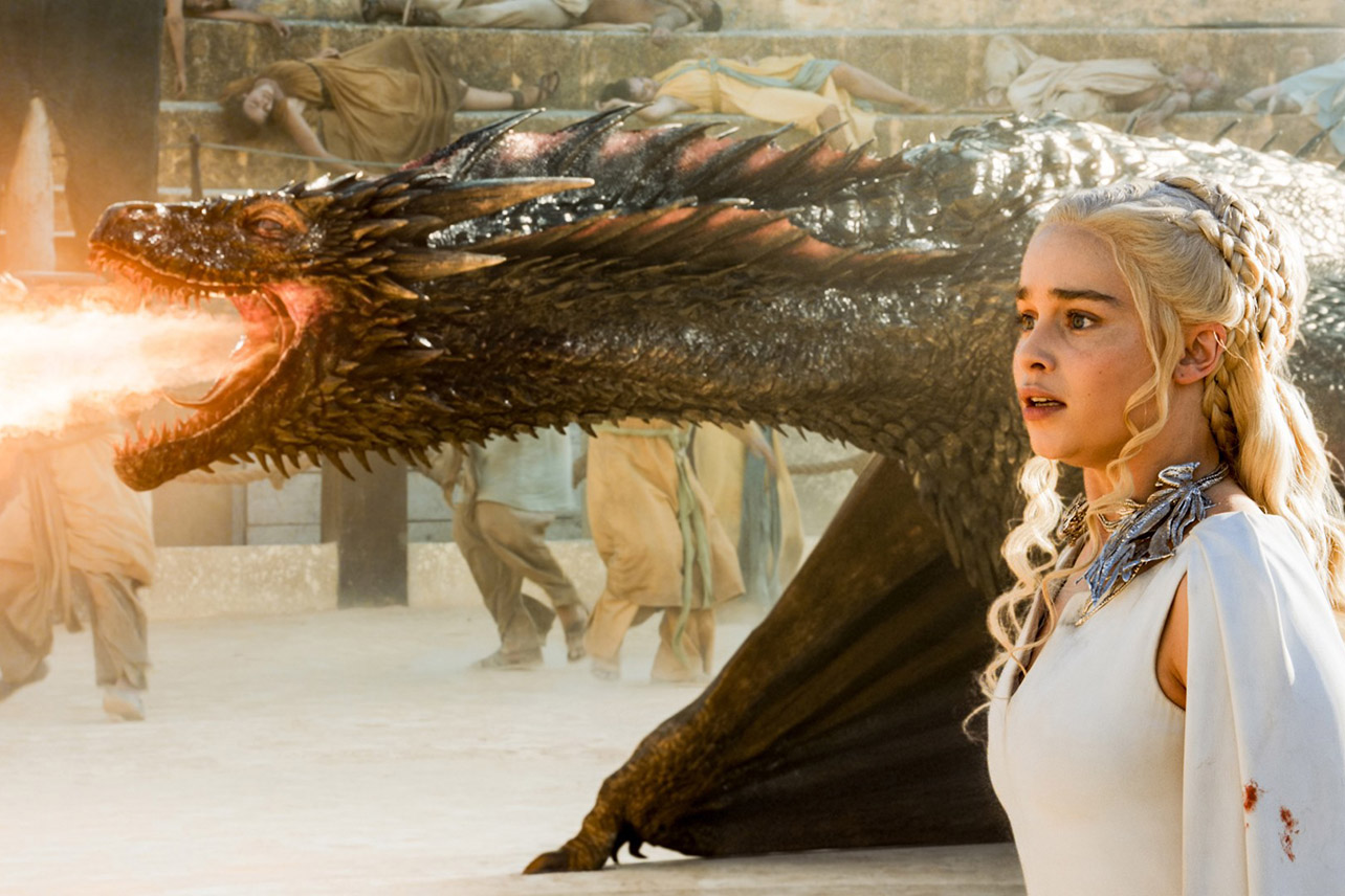 """Knowing that is going to be a lasting flavor in someone's mouth of what Daenerys is..."""""""