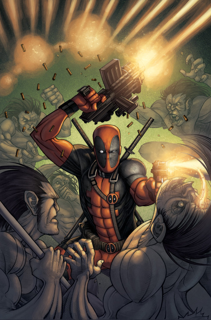 Judging by the Cover - Our favorite Deadpool covers of all time