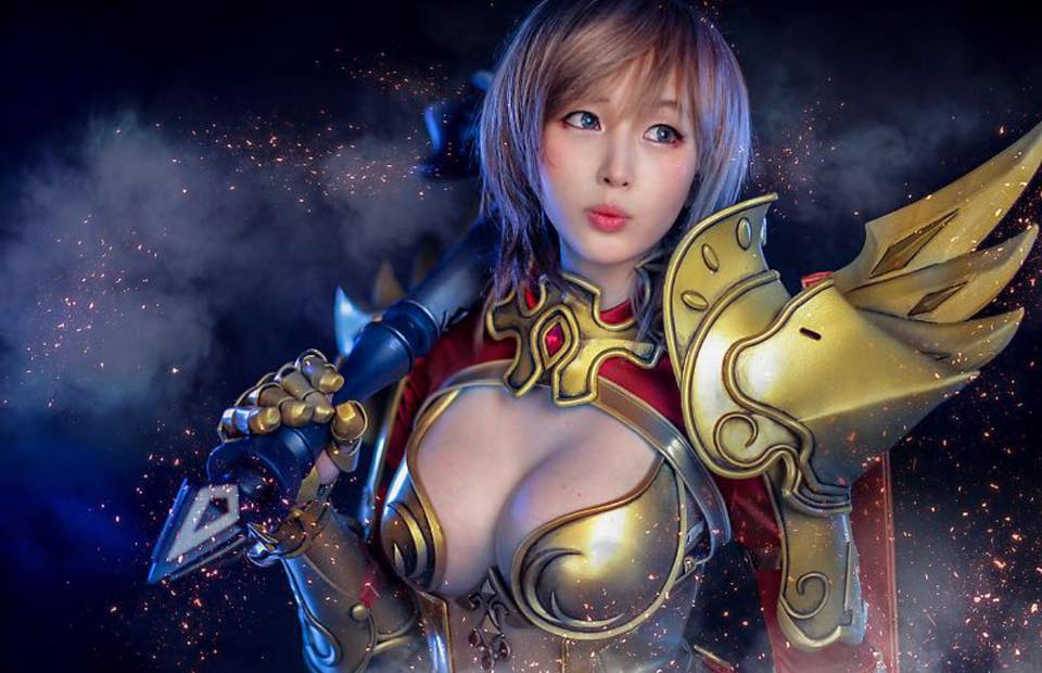 Echo of Soul: Paladin cosplay by Doremi