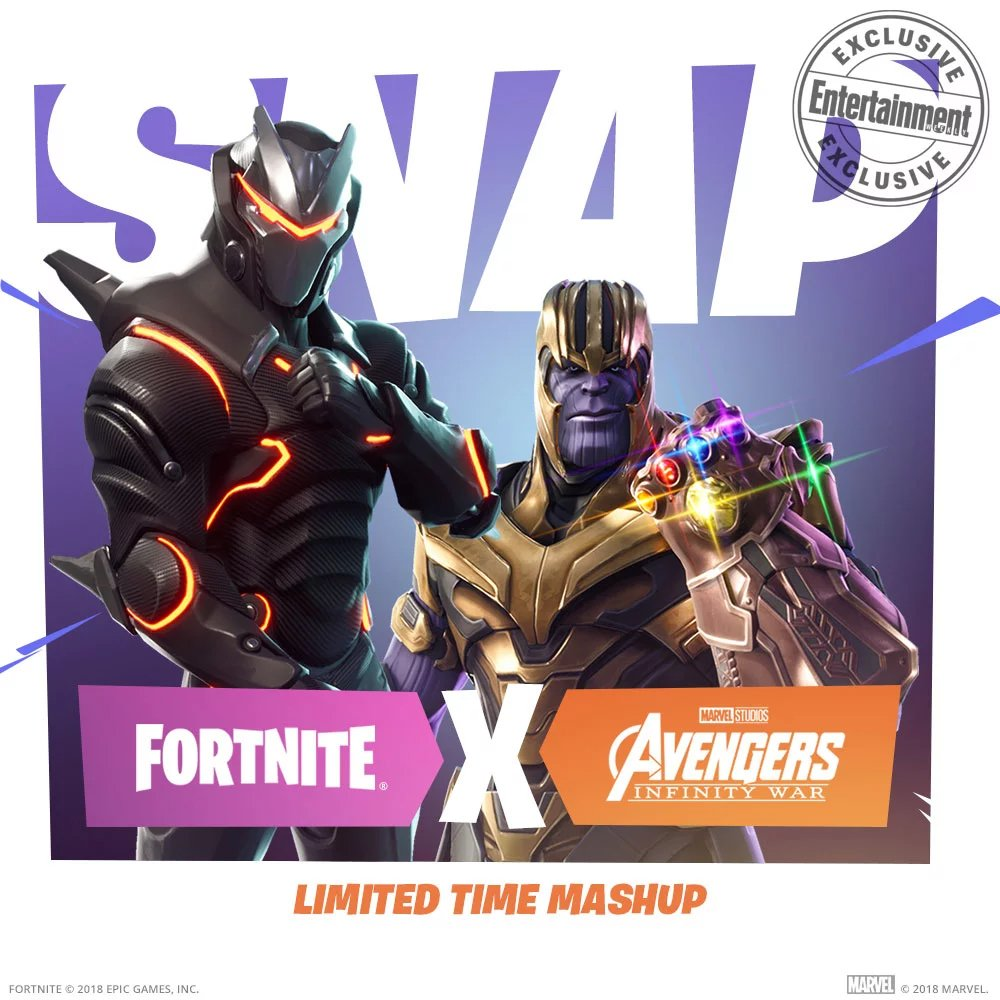 Thanos comes to Fortnite: Infinity Gauntlet Limited Time Mashup makes Avengers: Infinity War/Fortnite mashup a reality