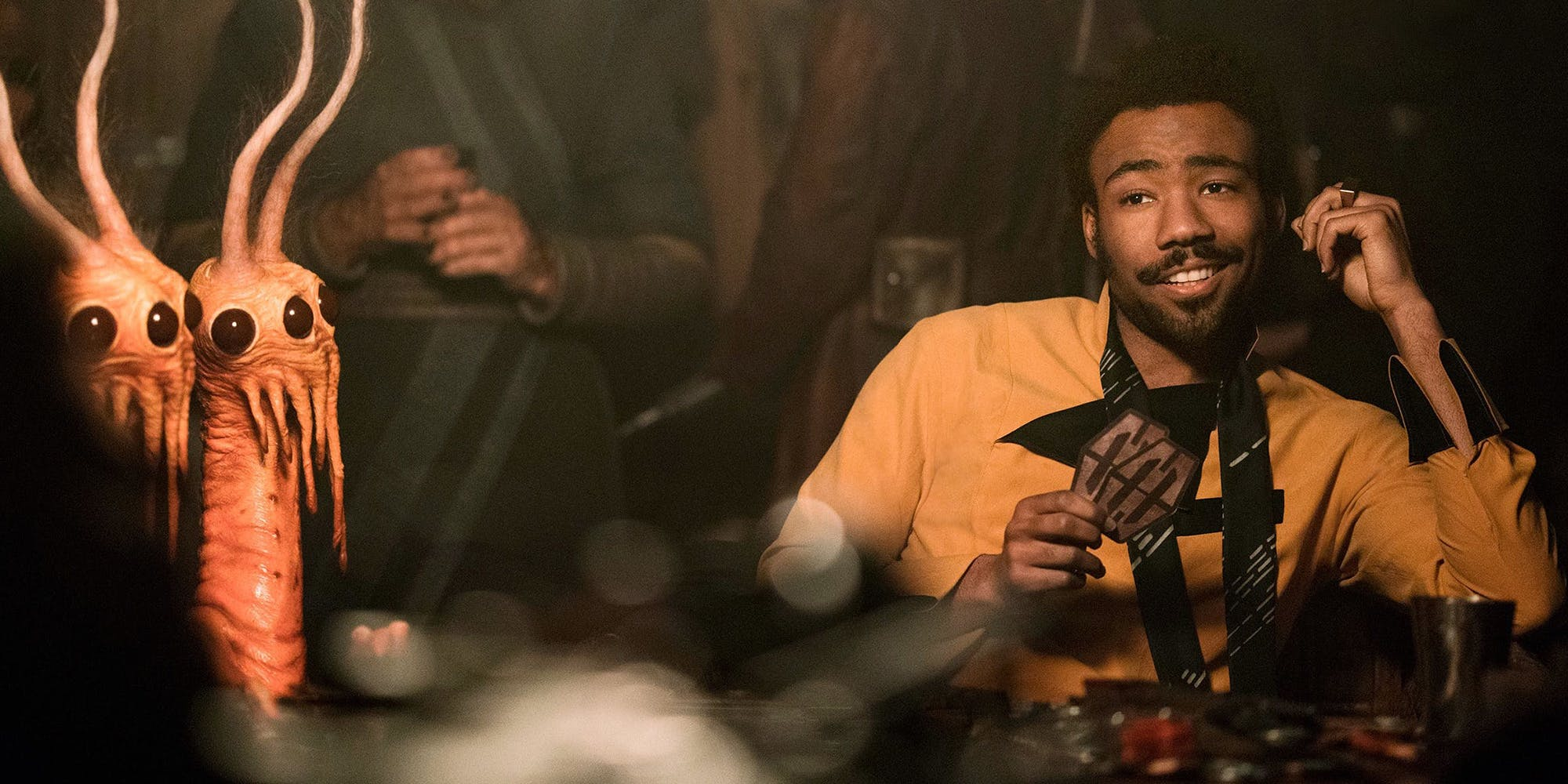 360 view of Lando and Han meeting in 'Solo: A Star Wars Story'