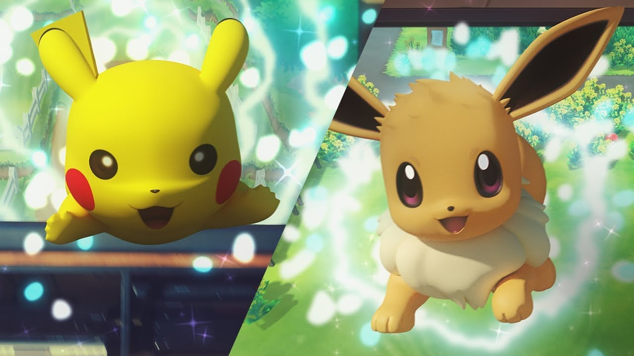 'Pokemon: Let's go, Pikachu!' and 'Pokemon: Let's Go Evee!' announced for Switch, blending the Game Boy classics with Pokemon GO