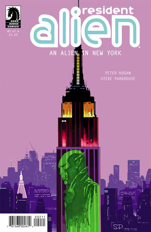Resident Alien: An Alien in New York #2 Review