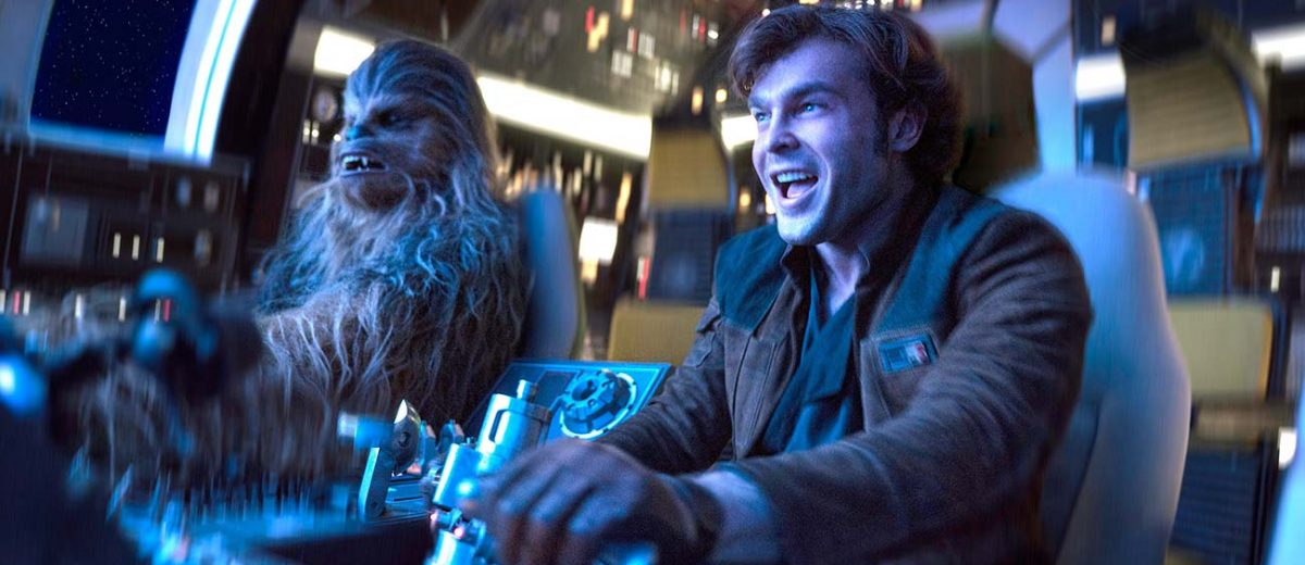 Watch a new 'Solo: A Star Wars Story' from the Late Show with Stephen Colbert