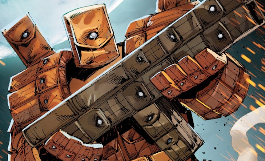 """Bloodstrike #23 introduces Rob Liefeld's """"The Pouch"""" in self-aware variant cover"""