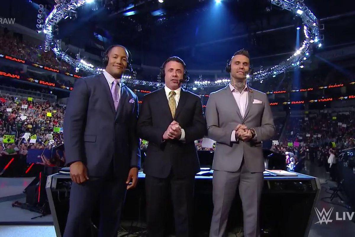 Accepting Mediocrity: The sorry state of WWE's commentating