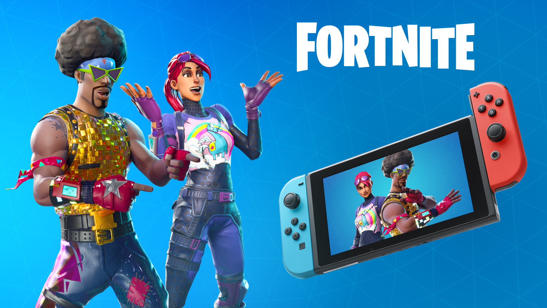 Fortnite Battle Royale available today for Nintendo Switch
