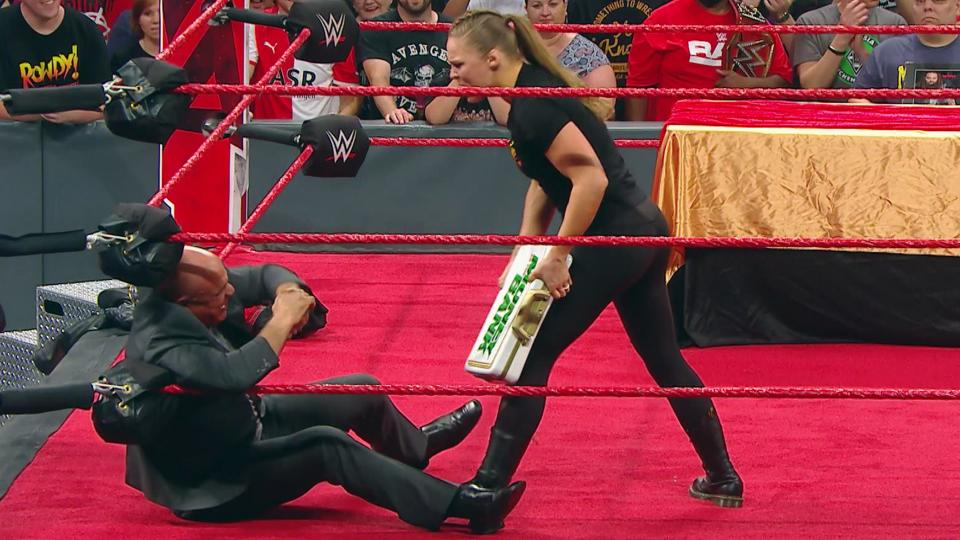 Ronda Rousey will be at WWE Extreme Rules via wrestling's best loophole