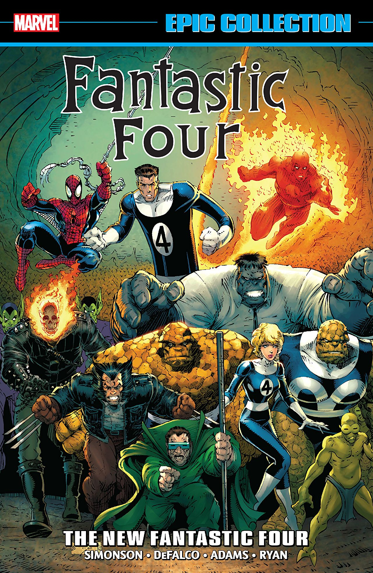 'Fantastic Four Epic Collection: The New Fantastic Four' review: Massive and loaded with FF history