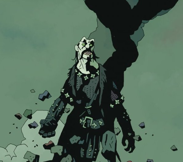 Koshchei the Deathless ends this week, completing a journey that reveals the backstory of one of Hellboy's greatest foes. They've both been hanging in a bar of Hell chatting up how Koshchei got there and in this issue, we learn what was really going on when they both came to blows.