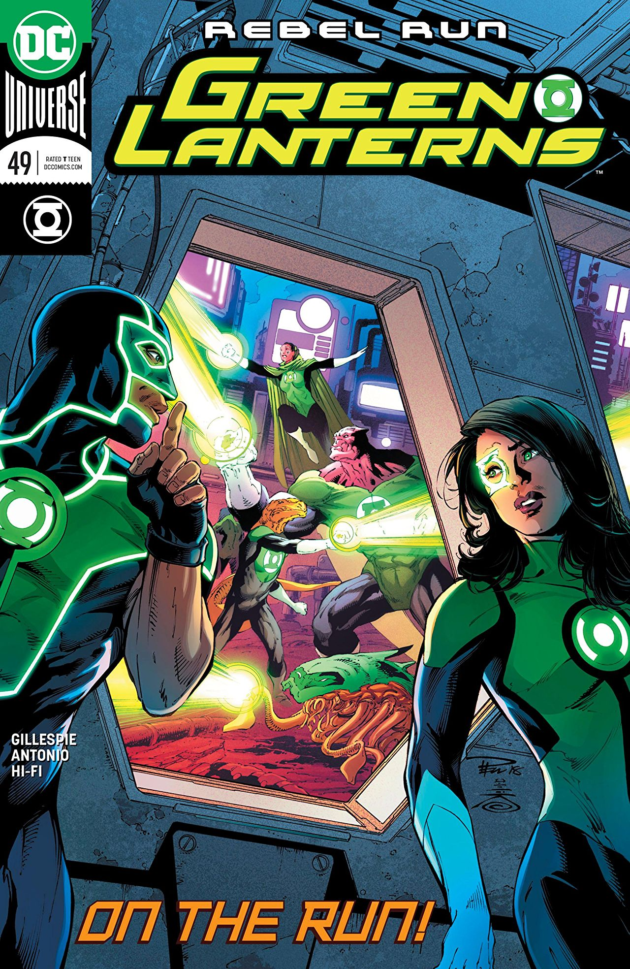 Green Lanterns #49 review: Doesn't get more average than this