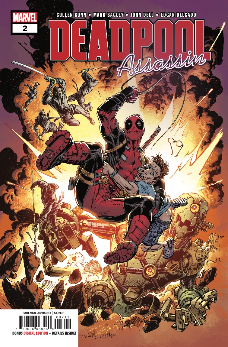 Deadpool: Assassin #2 review: Another funny, blood soaked adventure