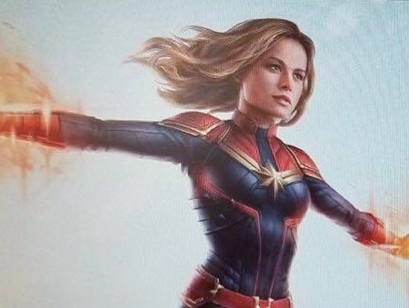 First Look: Leaked Captain Marvel costume reveals with Hulk and Hawkeye too