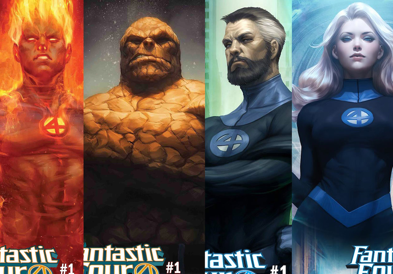 First Look: Fantastic Four #1 by Dan Slott and Sara Pichelli gets 4 stunning covers!