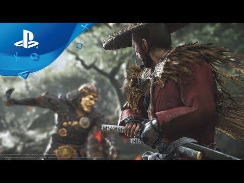 E3 2018: Sucker Punch and Sony unveil first Ghost of Tsushima gameplay