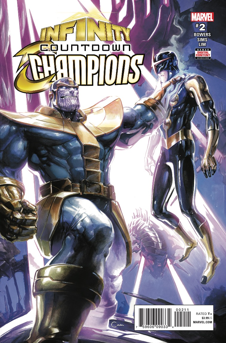 Marvel Preview: Infinity Countdown: Champions #2