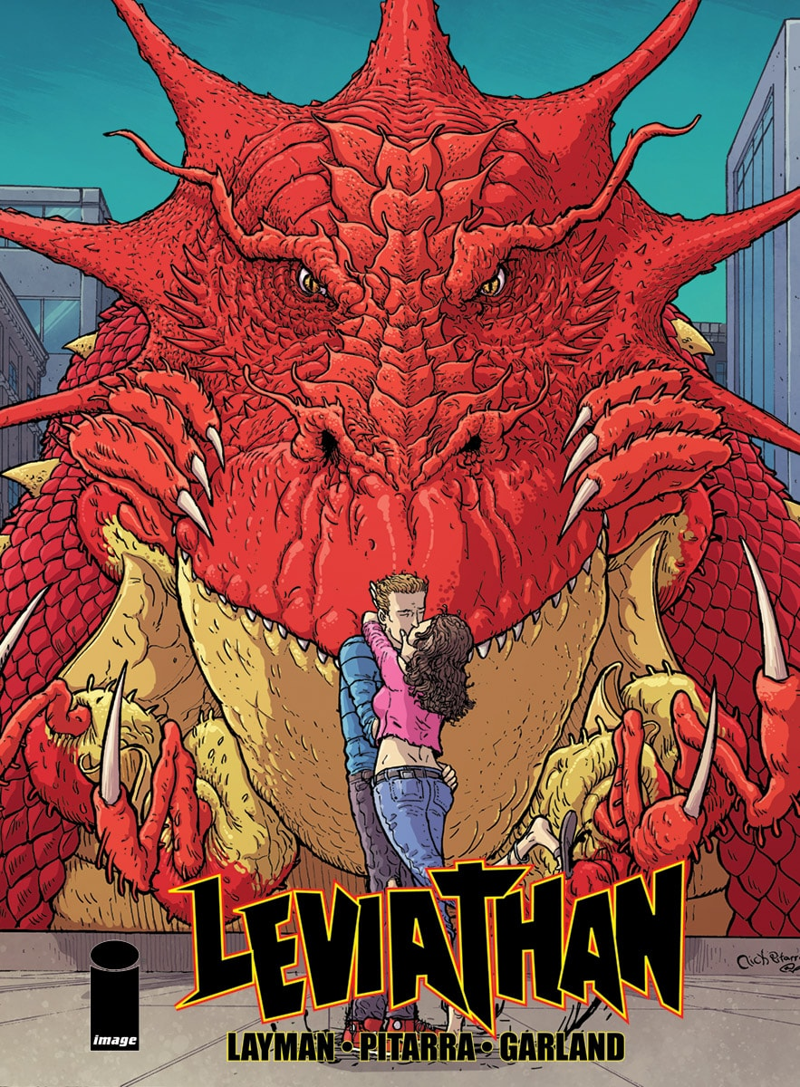 Leviathan # 1 advance review: Goths, beer, and kaiju come together at last