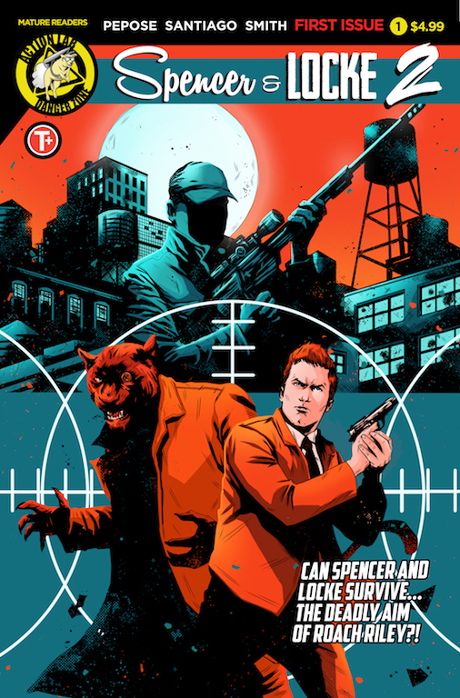 ActionLab Preview: Spencer & Locke 2 #1