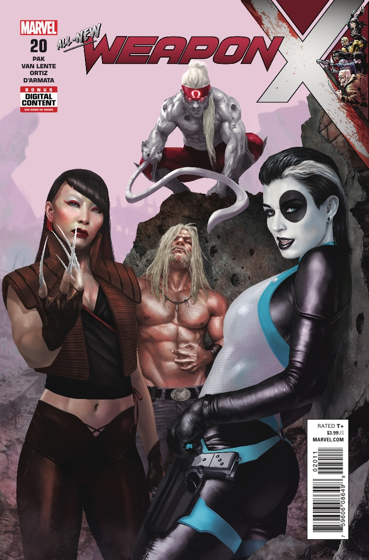 Marvel Preview: Weapon X #20