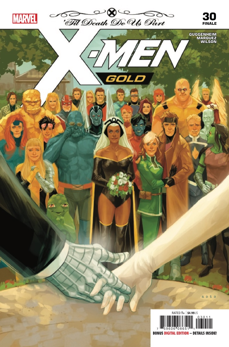 On frustrations and fulfillment: X-Men Gold #30 is not the wedding issue you expected