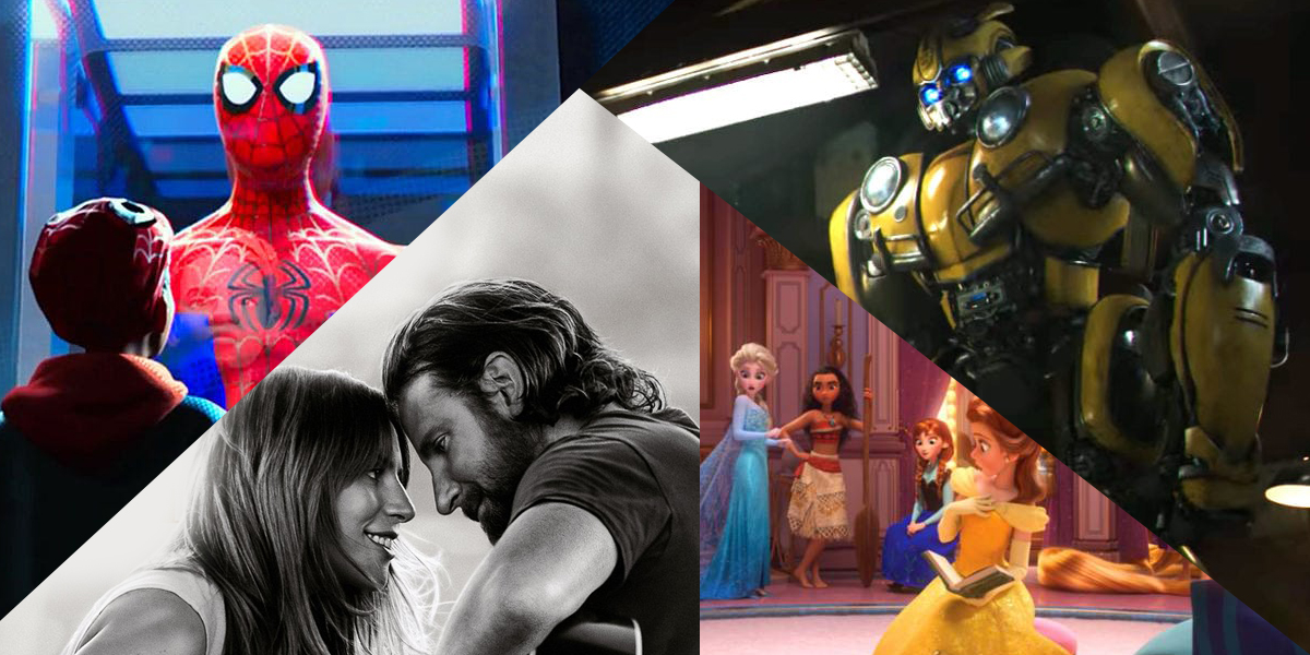 A number of exciting trailers dropped this week, including: Bumblebee, Spider-Man: Into the Spider-Verse, Wreck-It-Ralph 2 and A Star Is Born.
